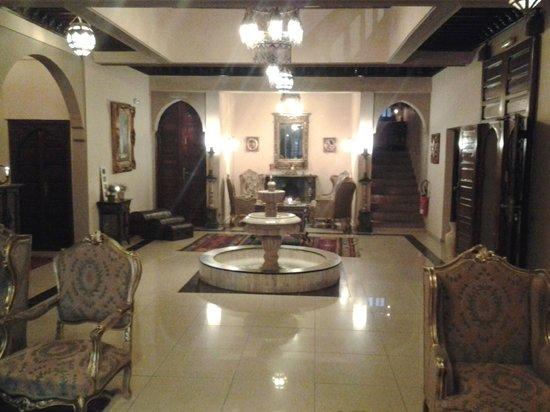 Albakech House:                   relaxruimte