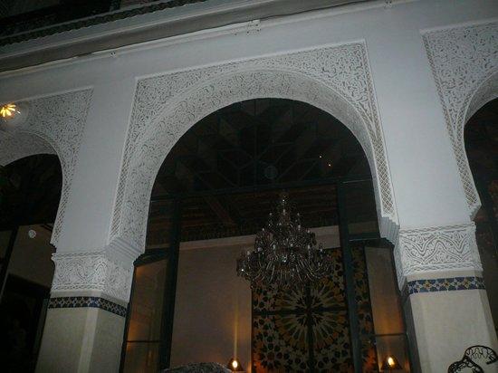 Restaurant Riad Monceau:                   le Riad