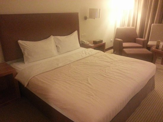 Grand I Hotel:                                     King bed , Superior room