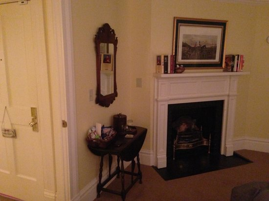 The Willcox:                   Fireplace