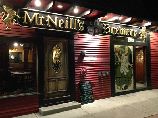 McNeill's Brewery and Pub : Exterior view