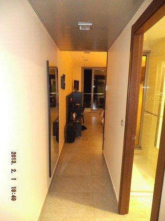 جران هوتل سول يي مار:                                     Interior dela habitación.                                 