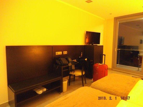 Gran Hotel Sol y Mar:                                     Interior cuidado.
