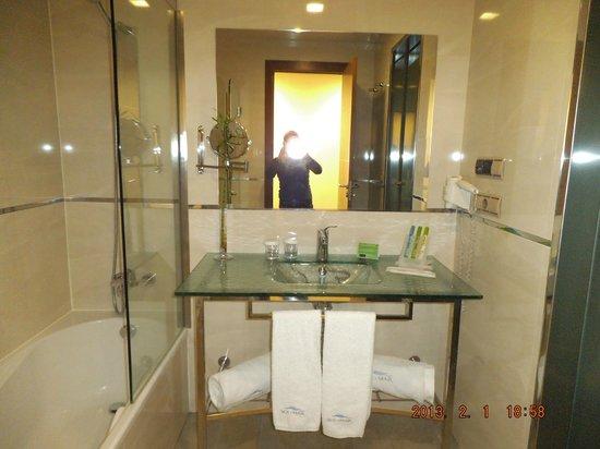 جران هوتل سول يي مار:                                     Baño dela habitación 536                                  