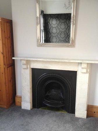 Warrens:                   beautiful fire place