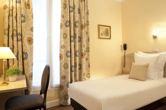 Hotel Eiffel Turenne: chambre single