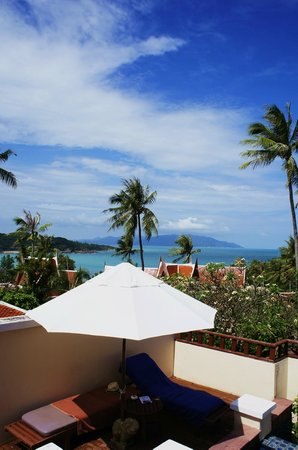 Q Signature Samui Beach Resort:                   Вид из номера 1 Bedroom Private Pool Villa