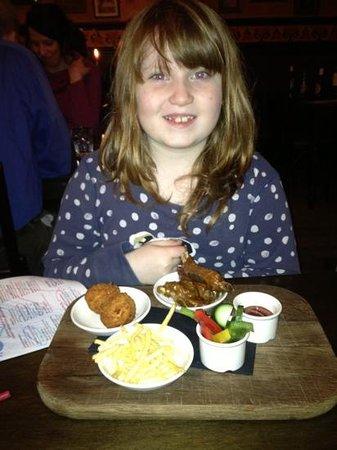 La Tasca - Edinburgh:                   Kids menu
