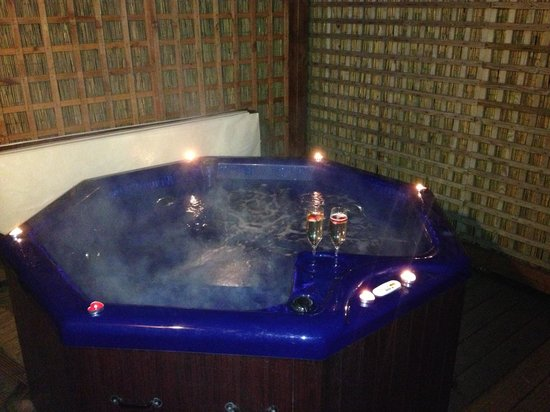 Tilford Woods Lodge Retreat:                   Hot tub