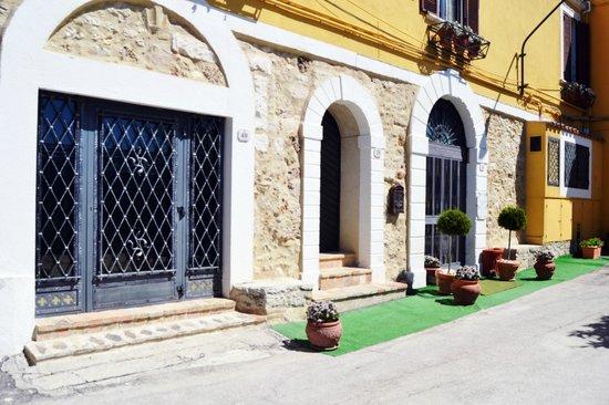 Ristorante Brancaleone:                                                       esterno del ristorante