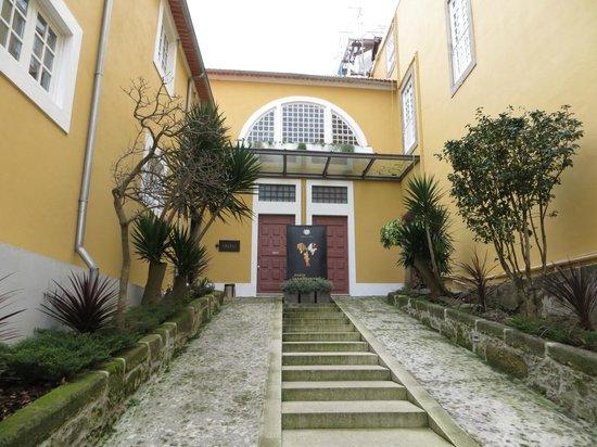 Vinicola Ramos Pinto:                   Entrance to Ramos Pinto