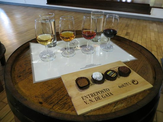 Vinicola Ramos Pinto:                   Wine and chocolate tasting