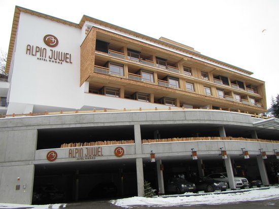 Alpin Juwel :                   Hotel front view