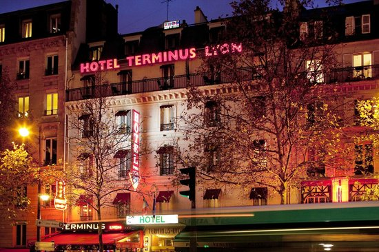Hotel Terminus Lyon: Façade