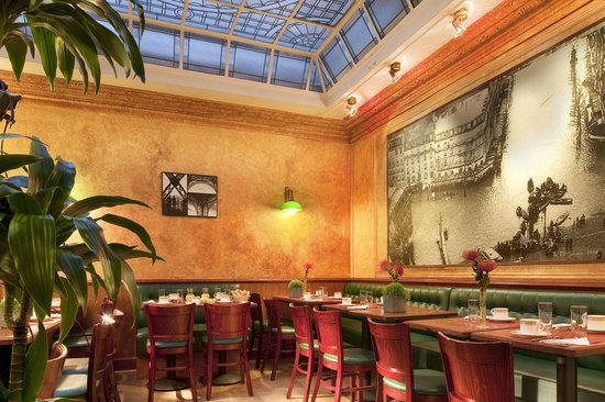 Hotel Terminus Lyon: Sallle petit déjeuner