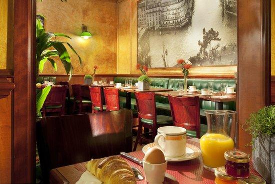 Hotel Terminus Lyon: Salle petit déjeuner