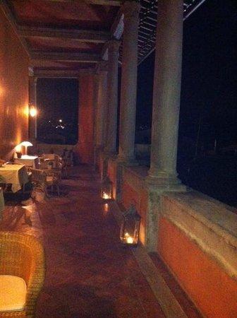 Hotel Palazzo Guadagni:                   la vue et le charme incroyable de la terrasse