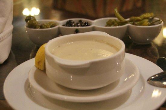Al Meshwar Restaurant: amazing mushroom cream soup