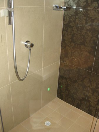 Hotel Indigo Glasgow: Shower area