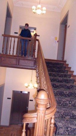 Clarion Collection Hotel Valdemars:                   de traphal van het hotel