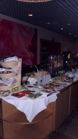 Clarion Collection Hotel Valdemars:                   het avond buffet
