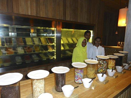 Six Senses Laamu: Ice cream area