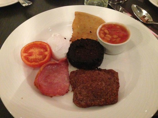 Hotel Indigo Glasgow: Miserable breakfast