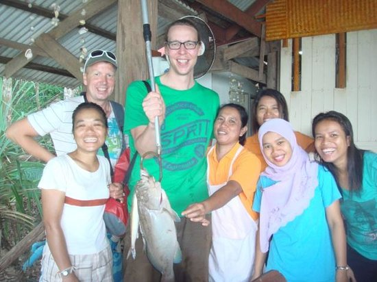Jungle Hill Bungalow : Fish of the day!