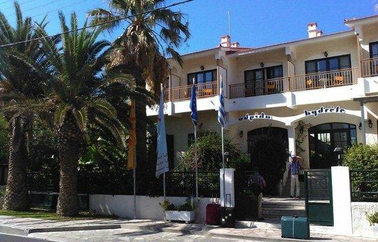 Hydrele Beach Hotel & Village: main entrance