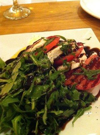 Cheese Culture:                   Caprese Salad Split