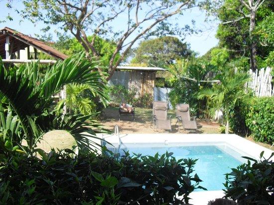 Pedasito Hotel:                   Garten