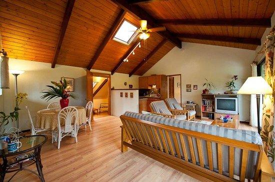 Hale Moana Bed & Breakfast : Hale Moana Hawaii Bed & Breakfast - Lanai Suite