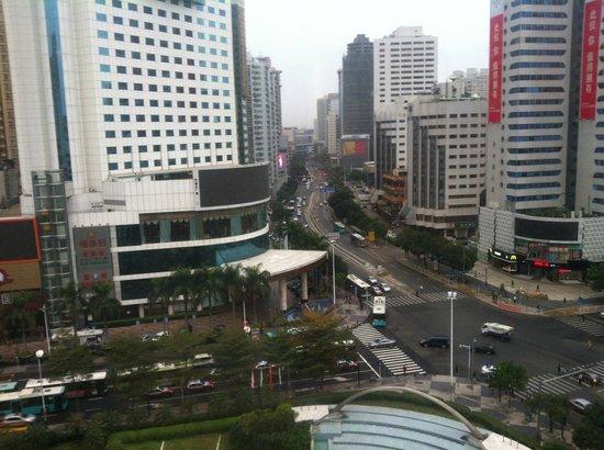 Sunshine Hotel Shenzhen:                   Vista do Quarto