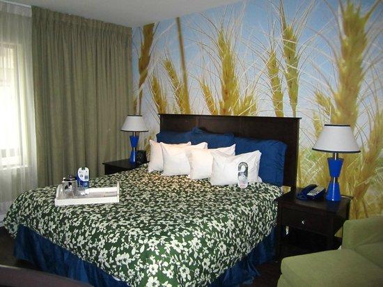 The Metcalfe Hotel: Cabecero de la habitación