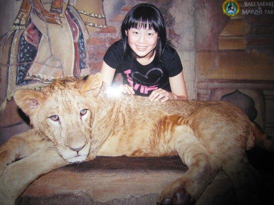 โรงแรมมารา ริเวอร์ ซาฟารี ลอดจ์:                   Lion with a photograph