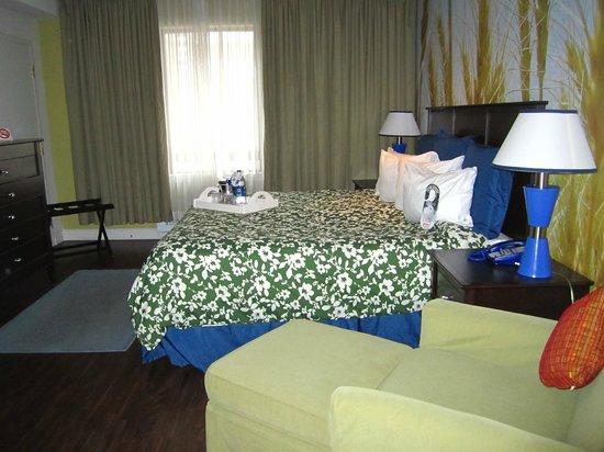 The Metcalfe Hotel: Habitación