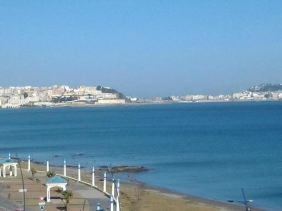 Ibis Moussafir Fnideq:                   View of Ceuta, Spain from room.