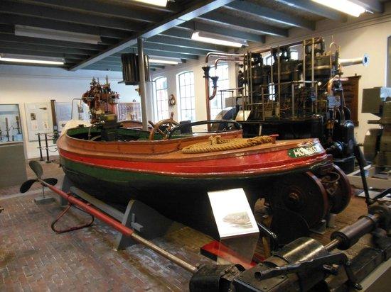 Noordelijk Scheepvaartmuseum: Interno museo
