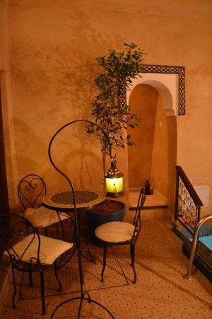 Riad Ziryab Marrakech : Patio