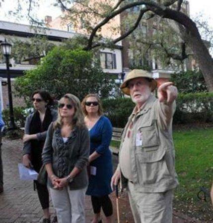 Savannah Walking Tours with Tony Higgins: Tony on Tour