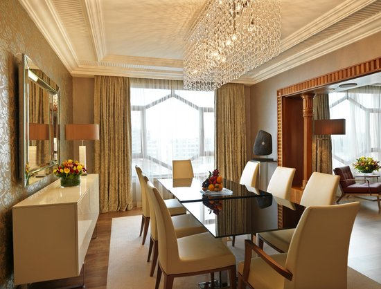 Grand Hyatt Amman: King Royal Suite - Dinning Area