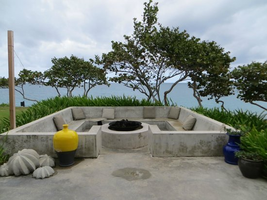 Fire Pit Picture Of W Retreat Spa Vieques Island