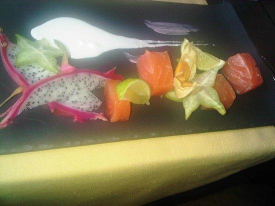 Brasserie Belvedere:                   salmon gravlax