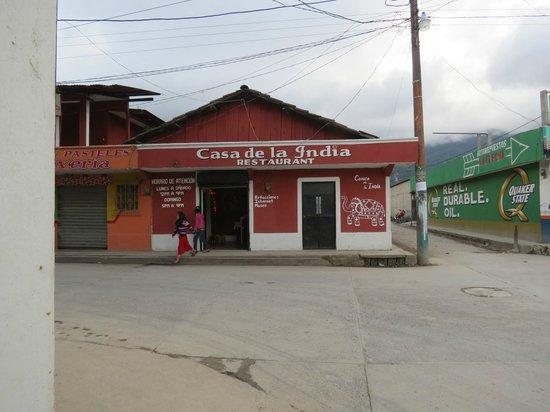 Street view of Casa de la India