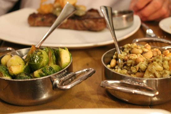 1808 Grille:                   Brussel sprouts and quinoa