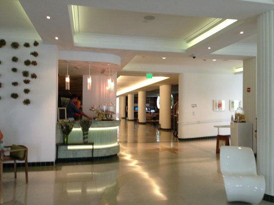 Royal Palm South Beach Miami, A Tribute Portfolio Resort:                   lobby and coffee bar