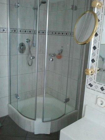 Hotel Bayerischer Hof:                   Shower
