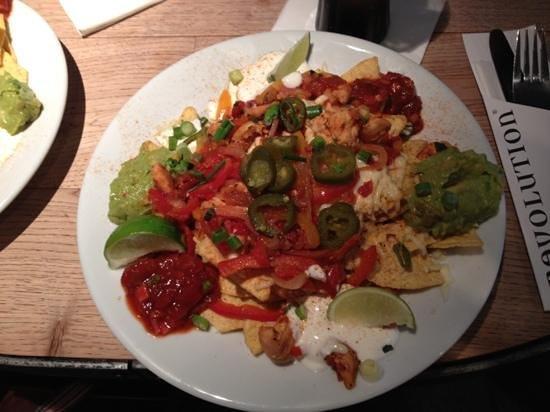 Revolution:                   nachos