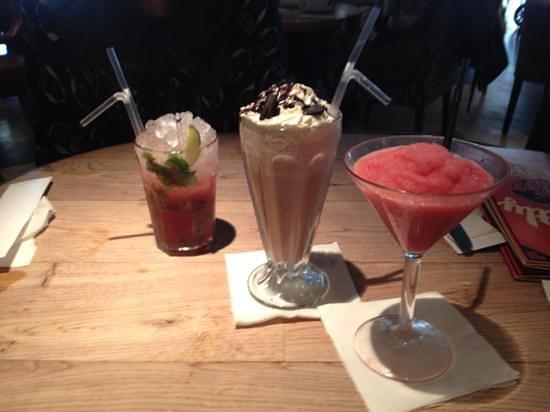 Revolution:                   cocktails