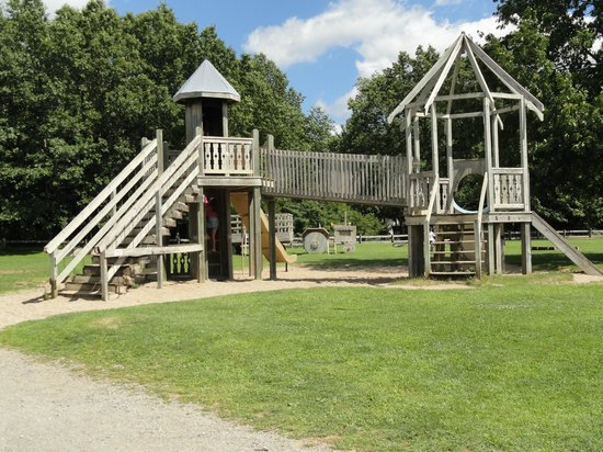 Double JJ Ranch & Golf Resort: Wooden Playscape